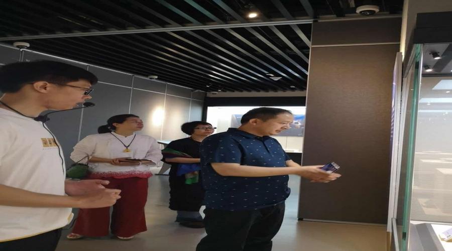 浙江省文化馆民间艺术研究中心一行来龙泉考察