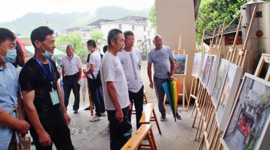 下雨也超嗨!这场龙渊街道村头村文化产业节你来了吗